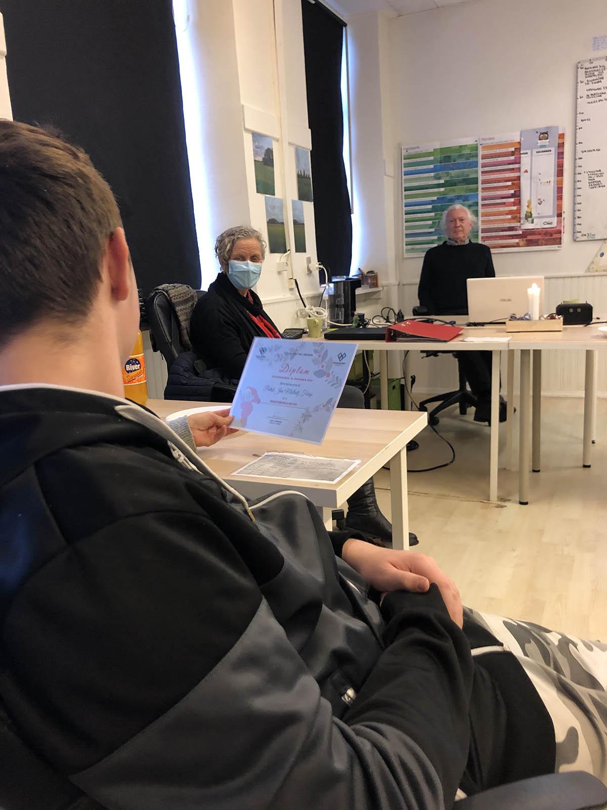Eksamenstræning i udskolingen · Turboforløb